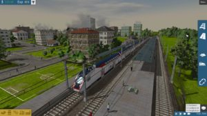 Het standaard station in TrainFever