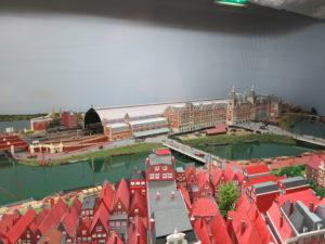 Amsterdam in het spoorwegmuseum