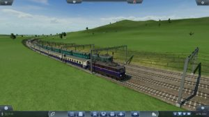 Transport Fever Screenshot two trains