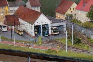 modeltreinbaan 'trambaantje'