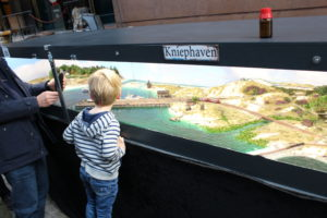N-spoor modelbaan Kniephaven