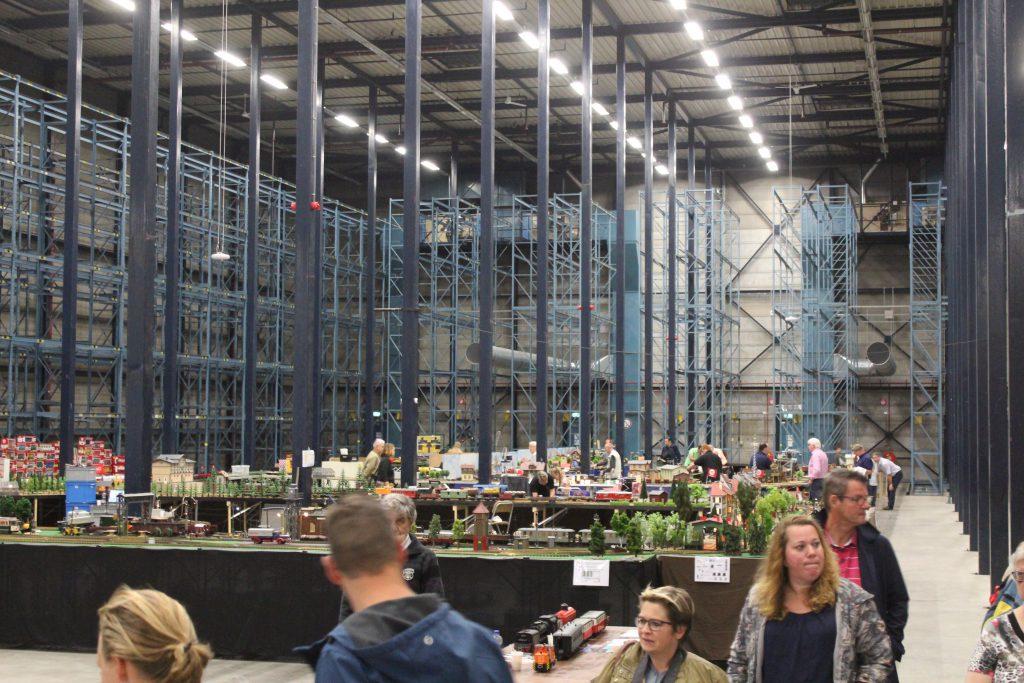 modeltreinen in de Van Nelle Fabriek