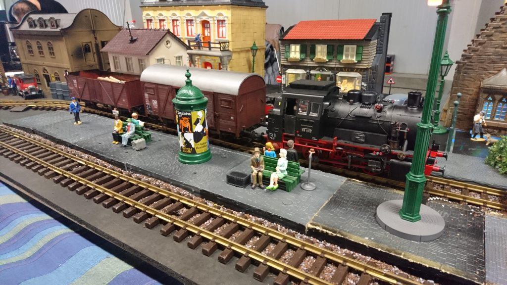 Spoor 1 op Rail in Houten